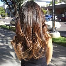 Neueste Aktuelle Ombre Balayage Haarfarben Ideen