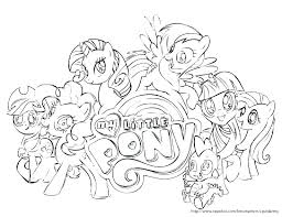 Coloring Pages My Little Pony Friendship Is Magic Photo Album