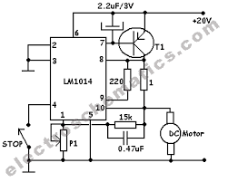 dc motor speed controller circuit dc motor speed controller schematic