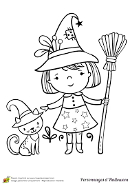 Coloriage Halloween Page 5 Coloriage Halloween Chat NoirlL