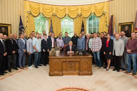 where is the oval office. The Team Gifted President Trump With A Customized Championship \u201c45\u201d Jersey, As Well Scoreboard Panel. Where Is Oval Office