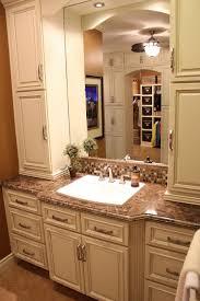 White Wood Bathroom Vanity Small Linen White Bathroom Vanity Creative Bathroom Decoration