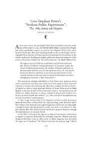 """Cora Urquhart Potter's """"Perilous Public Experiment"""": The 1889 """"Antony and  Cleopatra"""""""