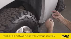 Husky Liners® Mud Guard Installation Video - YouTube