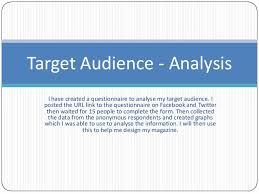 audience analysis example audience analysis essay example essays on death essay on topic