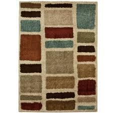 moo blues multi 7 ft x 10 ft area rug