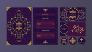 Menu Card Template Menu Card Design Free Vector Art 5 354 Free Downloads