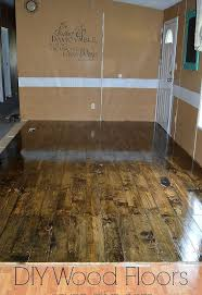DIY Hardwood Pine Floors Hometalk