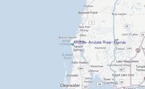 Anclote Anclote River Florida Tide Station Location Guide