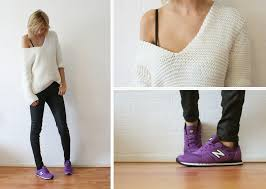 new balance jumper. sietske l - zara knitted jumper, cos coated jeans, new balance sneakers jumper