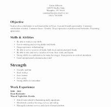 Waitress Resume Example Awesome Resume Sample For Cruise Ship Jobs Impressive Sample Resume For A