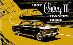 1962 chevy ii nova wiring diagram manual reprint 1962 chevy ii nova reprint owner s manual 62