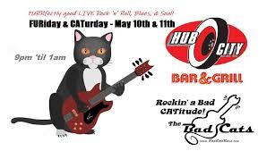 CATurday night LIVE music - Bad Cats at Hub City - Cascade Arts &  Entertainment