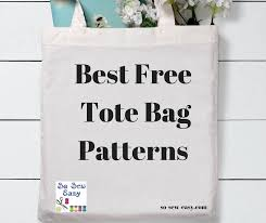 Free Tote Bag Patterns Enchanting Best Free Tote Bag Patterns 48 Of Our Favorites So Sew Easy
