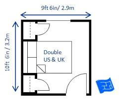 Typical Bedroom Size