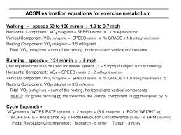 acsm metabolic equations jennarocca