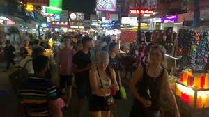 Party San Thailand Night Road Dz Khaosan At Khao YFECSqxw