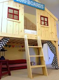 cool diy kids beds. Wonderful Kids Clubhouse Bed For Cool Diy Kids Beds O