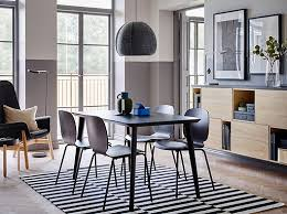 dining room furniture ideas. modren ideas the quick to assemble lisabo table and svenbertil chairs in black make an  elegant combination and dining room furniture ideas