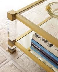 bronze harrison coffee table