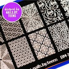 nails.by.teens Blogger Collaboration Nail Art Polish Stamping ...