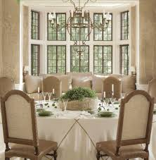 For Bay Windows In A Living Room Bay Window Decorations With Luxury And Classic Dark Brown Window