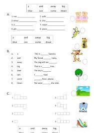 Dolch Primer Worksheets Hilbarn Com