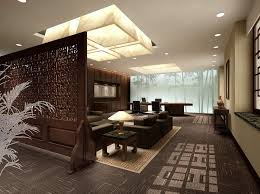 Simple Traditional Interior House Design Chinese Interiors Yellow Wood Tv Wall Intended Concept Ideas