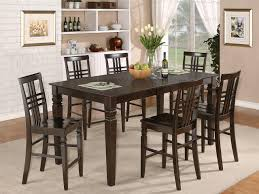 Tall Dining Room Sets Tall Dining Room Tables Is Also A Kind Of Rectangular Counter