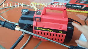 Máy Rửa xe gia đinh Panasonic P9 - SẢN PHẨM THÔNG MINH