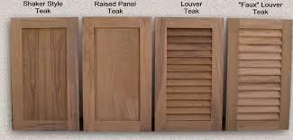 standard cabinet door styles