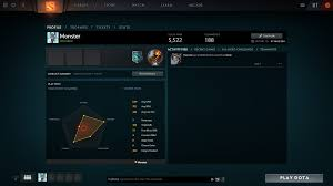 sold dota 2 account with 5 522 solo mmr and tbd party