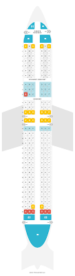 Boeing 737 900 Seating Chart Seat Map Boeing 737 900 739 Klm Find The Best Seats On A