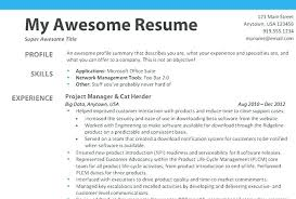 My First Job Resume Adorable First Job Resume Builder Sample Resumes Jump Template For Students
