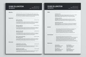 Resume Templates For Pages Template Word Mac Free Resume Templates