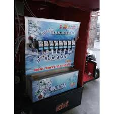 Mini Soda Vending Machine Inspiration Mini Soda Vending Machine सोडा वेंडिंग मशीन Blue