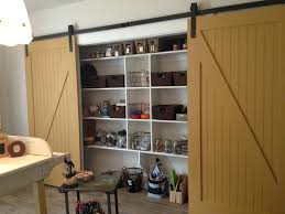 Garage Sliding Door Storage Cabinet Multimedia By Leslie Dame ...