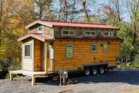 Small Picture This is a 240 sq ft triple axle Wishbone tiny home on wheels