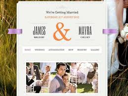 Wedding Website Templates New 28 Best Wedding Website Templates CSSHTML WordPress Ginva
