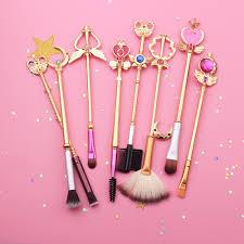 sailor moon makeup brush set