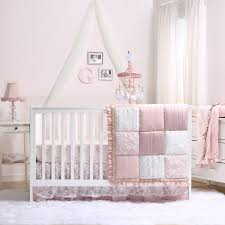 crib fitted sheet and dust ruffle