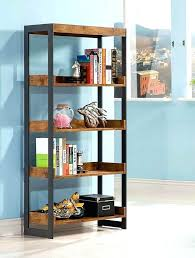 diy office shelves. Metal And Wood Bookcase Diy Antique Nutmeg Co Office Bookcases Shelves