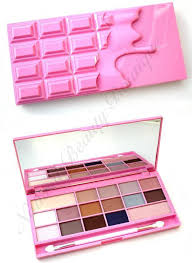 details about i heart makeup revolution chocolate bar pink fizz 16 colour eyeshadow palette