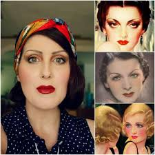 how to authentic 1930 s makeup eccentricowl