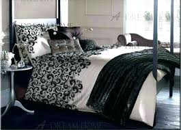 black and white comforter set king size grey sets bed bedding amazing park 5 piece home