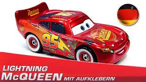 Lighting Mcqueen Stickers German Promo Lightning Mcqueen Mit Aufklebern With Stickers