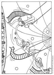 Small Picture Mirette on the High Wire coloring page Five in a Row FIAR