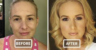 46 before and after pics reveal the power of makeup by melissa murphy bored panda