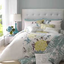 contemporary bedroom with fl bedroom design and grey wall paint bedroom exciting blue and
