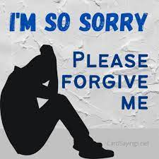 sorry in a card or letter apology 20